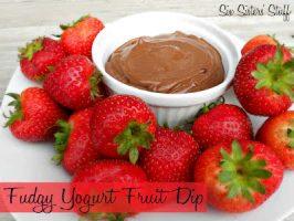 Fudgy Yogurt Fruit Dip