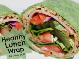 Easy Healthy Lunch Wrap