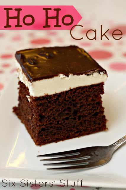 Ho Ho Cake | Six Sisters' Stuff