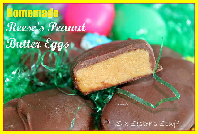 Homemade Reese's Eggs