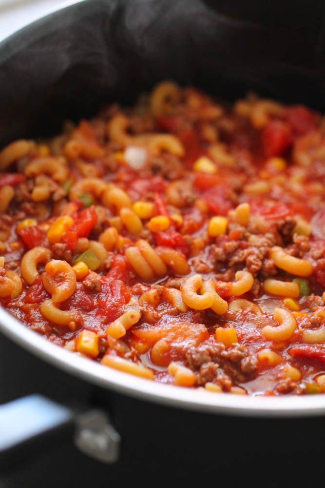 Hungarian Goulash made in just one pot