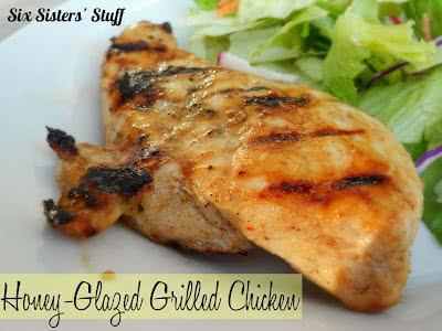 Honey-Glazed Grilled Chicken