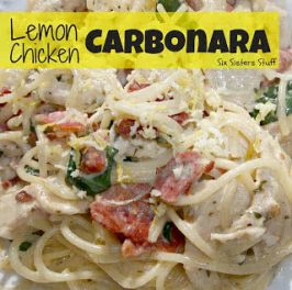 Lemon Chicken Carbonara Recipe