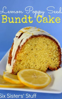 Lemon Poppy Seed Bundt Cake With Yogurt