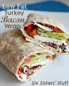 Low Fat Turkey Bacon Wrap Recipe