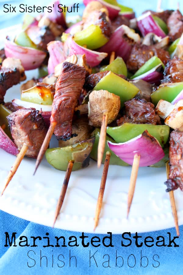Marinated Steak Shish Kabobs Recipe