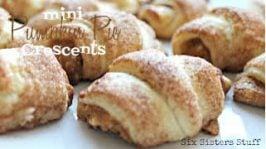 Mini Pumpkin Pie Crescents Recipe