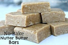 No-Bake Nutter Butter Bars Recipe