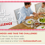 4×4 Family Dinner Challenge with Six Sisters' Stuff