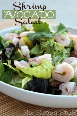 15-Minute Shrimp and Avocado Salad