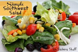 Healthy Meals Monday: Simple Southwest Salad