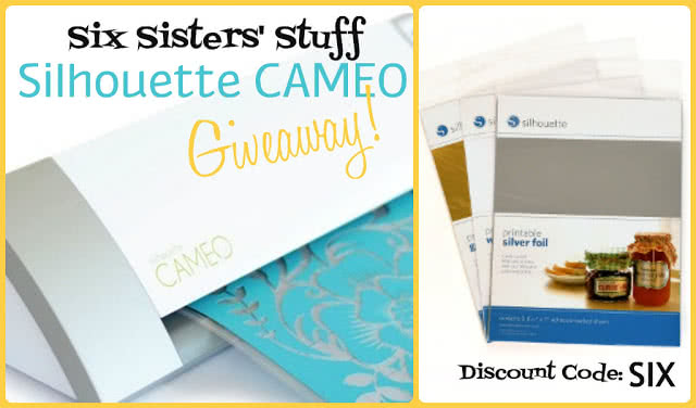 Six Sisters' Stuff Silhouette CAMEO Giveaway