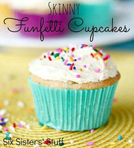 Skinny Funfetti Cupcakes Recipe