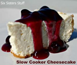 Easy Slow Cooker Cheesecake Recipe