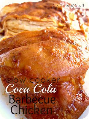 Slow Cooker Coca Cola Barbecue Chicken Recipe