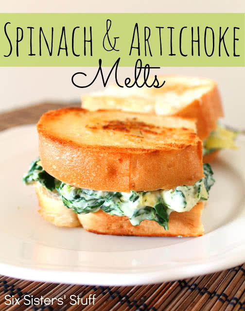 Spinach-and-Artichoke-Melts-Recipe