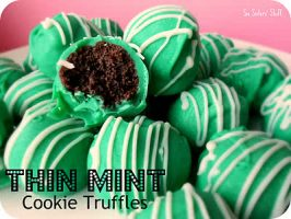 No-Bake Thin Mint Cookie Truffles Recipe