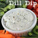Vegetable-Dill-Dip