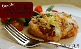 Avocado Chicken Parmesan Recipe