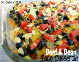 Beef and Bean Taco Casserole