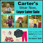 $50 Carter's Gift Card Giveaway