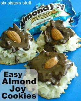 Easy Almond Joy Cookies Recipe