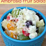 Easy Ambrosia Fruit Salad