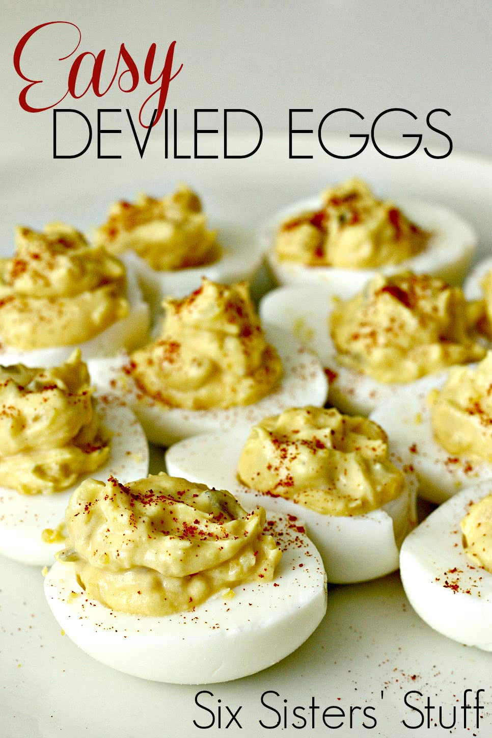 easy deviled eggs recipe