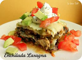 Chicken Enchilada Lasagna Recipe