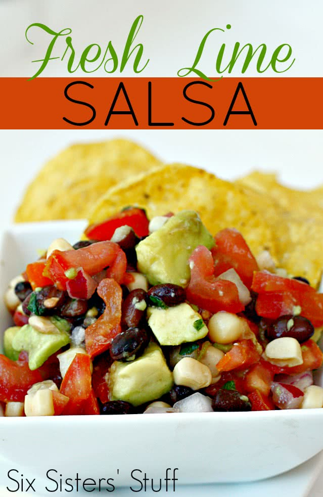 Fresh Lime Salsa Recipe