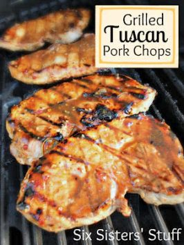 Grilled Tuscan Pork Chops