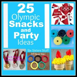 25 Olympic Snacks and Party Ideas