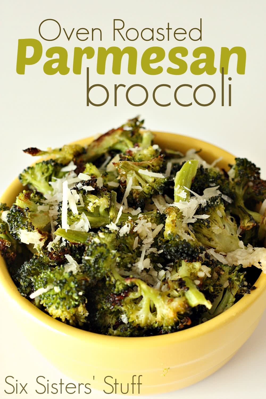 Oven Roasted Parmesan Broccoli Recipe