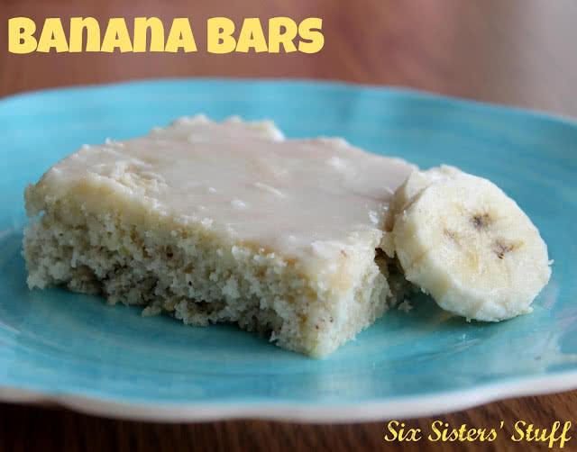 Banana Bars Recipe