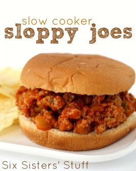 Slow Cooker Ground Turkey Sloppy Joes