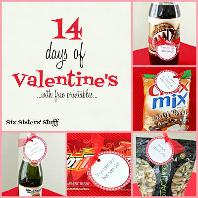 14 Days of Valentine's with free printables