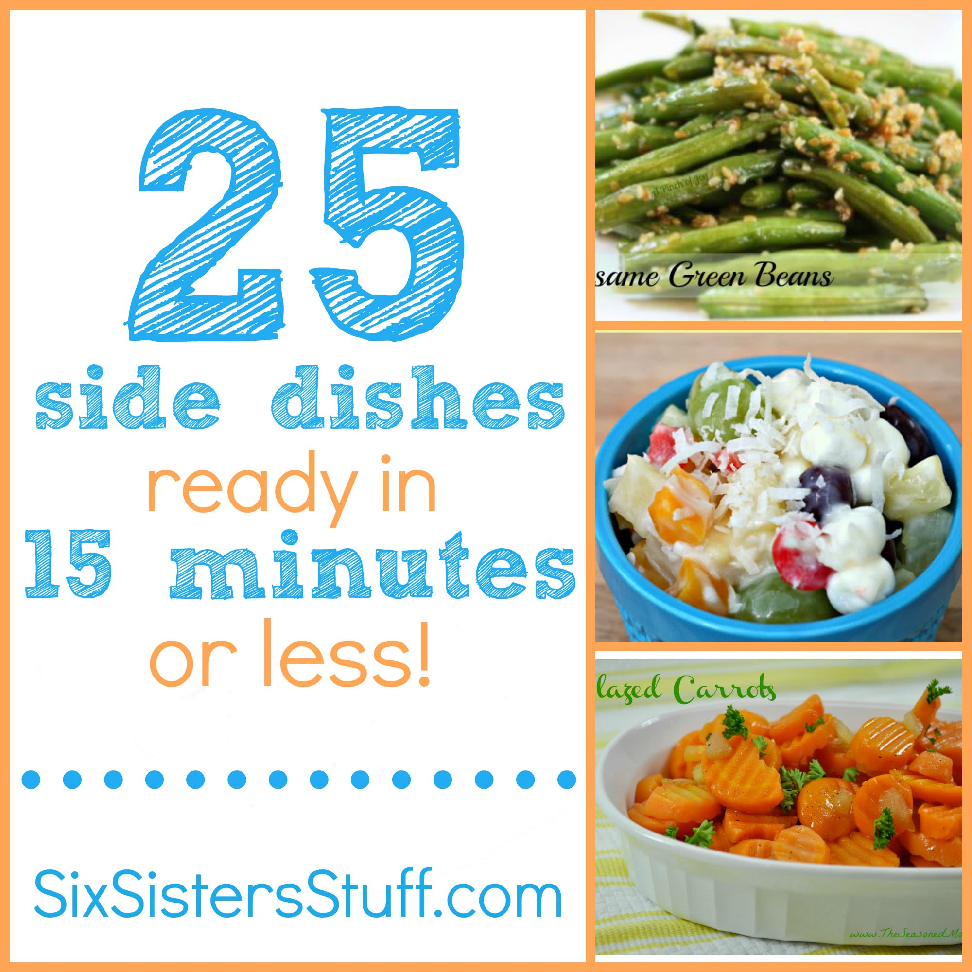 25 side dishes