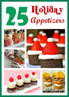 25 Holiday Appetizers