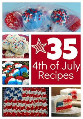 35 Fun 4th of July Recipes