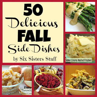 50 Delicious Fall Side Dishes