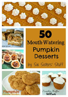 50 Mouth-Watering Pumpkin Desserts
