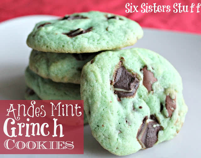 Andes Mint Grinch Cookies Recipe