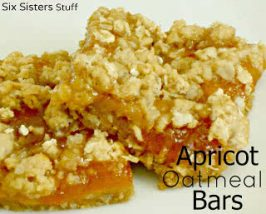 Healthy Meal Mondays: Apricot Oatmeal Bars