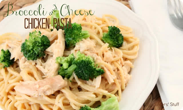 Broccoli and Cheese Chicken Pasta Recipe