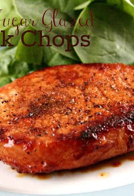 Slow Cooker Chinese Pork Chops | Six Sisters' Stuff