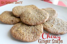 Ginger Snap Cookies {with Truvia® Baking Blend}