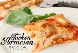 Chicken Parmesan Pizza Recipe