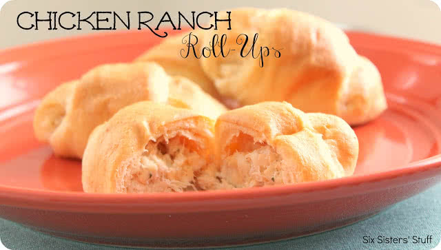 Chicken Ranch Roll-Ups Recipe