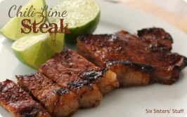 Chili Lime Rubbed Steak Recipe