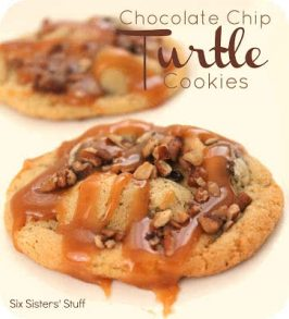 Chocolate Chip Turtle Cookies Recipe